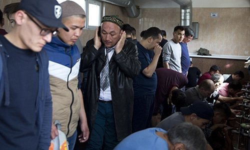'Thank the Party!' China tries to brainwash Muslims in internment camps
