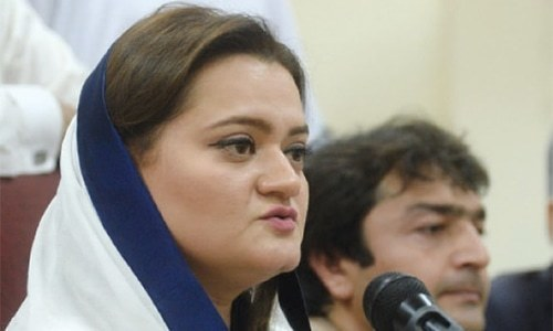 'I decided not to cover PM Abbasi's post-NSC press talk live,' says Marriyum