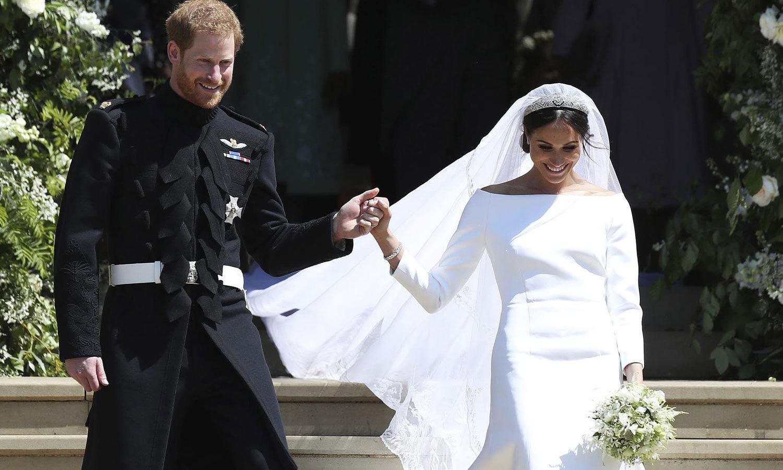 دونوں نے مئی 2019 میں شادی کی تھی—فائل فوٹو: اے ایف پی