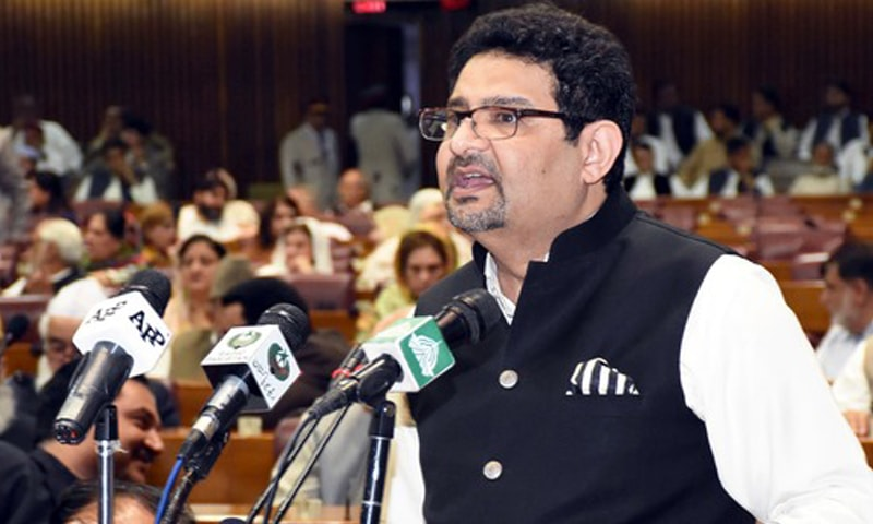 Finance Minister Miftah Ismail presents his government's last budget in the national assembly. The budget passed with minimal amendments.
