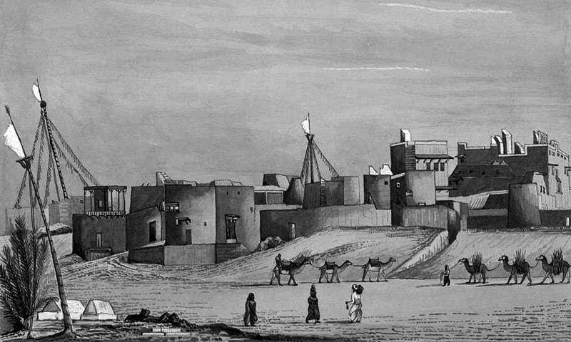 پرانا قلعہ کراچی۔