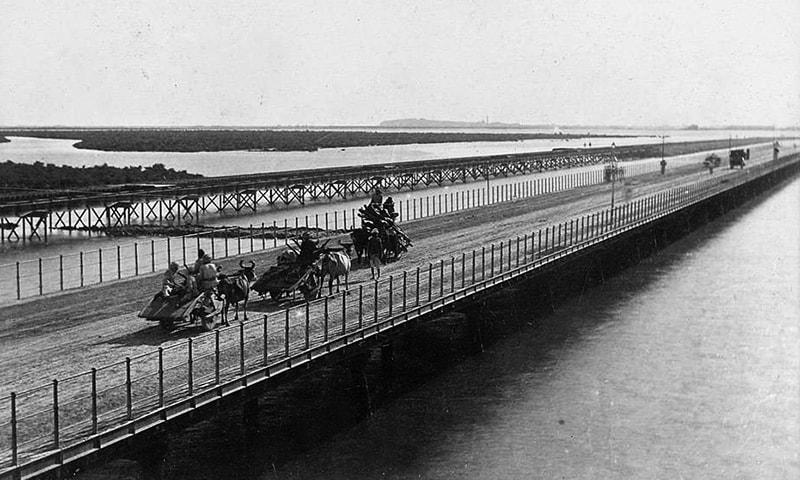 نیٹی جیٹی کا پرانا پل۔