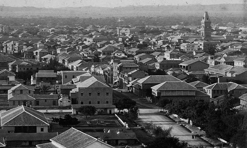 1930 کی دہائی میں صدر کا علاقہ۔