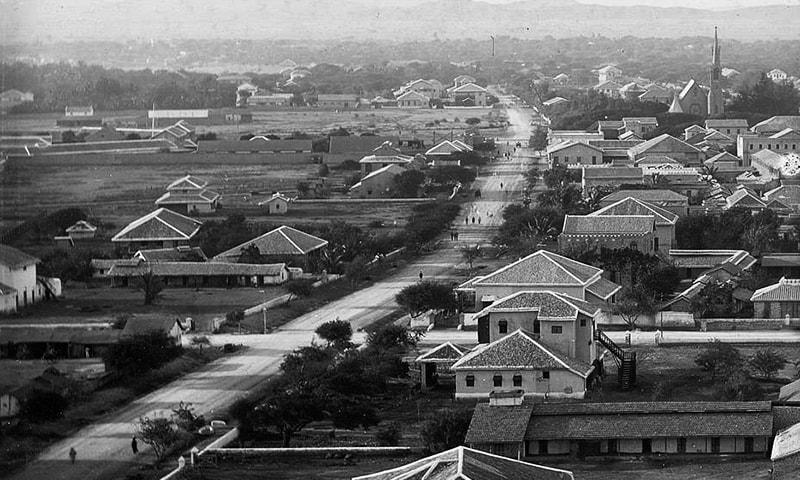 1930ء کی دہائی میں وکٹوریہ روڈ۔
