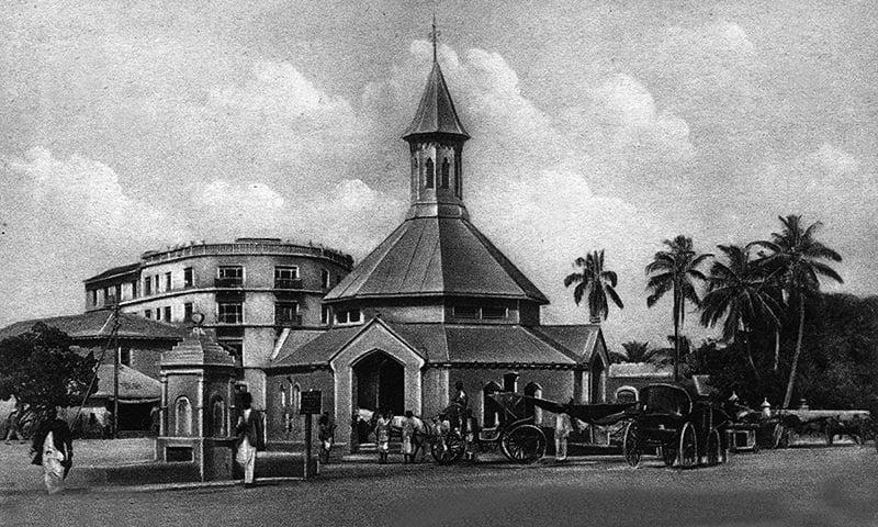 1940ء کی دہائی میں کراچی کا ایک منظر۔