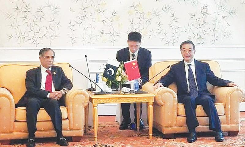 Judiciary backs CPEC, CJP tells China's top judge - Newspaper - DAWN COM