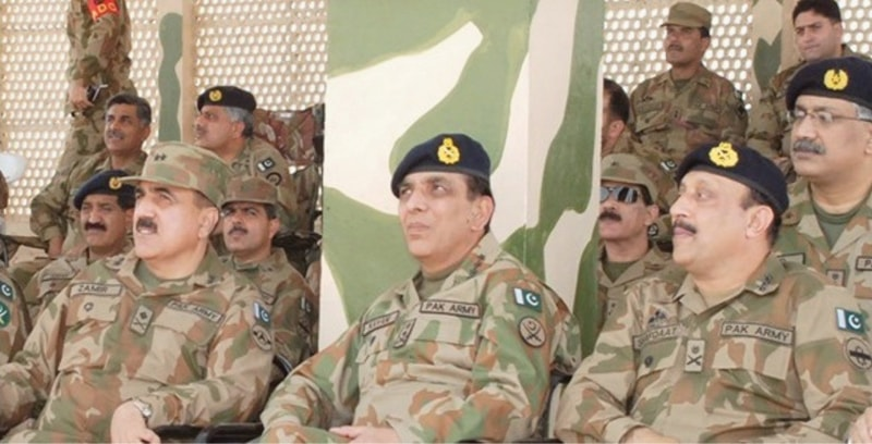 Former Chief of Army Staff Gen Ashfaq Parvez Kayani, here witnessing training activities of Army Air Defence units at Muzaffargarh Ranges, initially thought the Abbottabad raid was about grabbing Pakistan's nukes | AFP