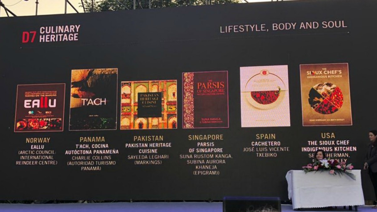 The book was also nominated in the Culinary Heritage category