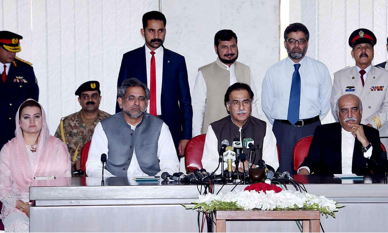 Former CJP Nasirul Mulk named as caretaker PM - Pakistan