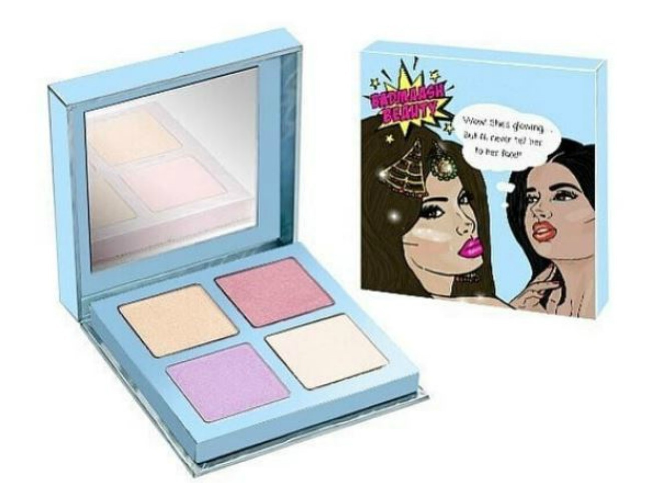 """The highlighter designed by Pakistani Martha Stewart says """"Wow! She's glowing...But I'll never tell her to her face!"""""""
