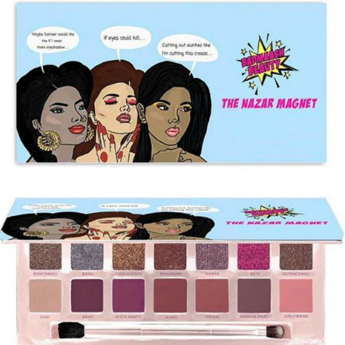 We made sure that anyone who gets our palette will be able to use every colour, says Badmaash Beauty co-founder Beena Alvi