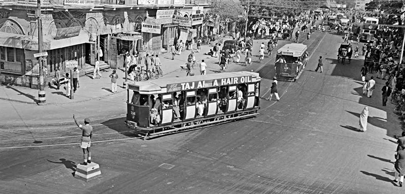 جب کراچی میں ٹرامیں چلا کرتی تھیں