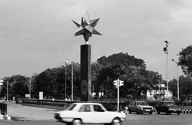 کراچی ایئرپورٹ اسٹار گیٹ—تصویر عبیداللہ کیہر