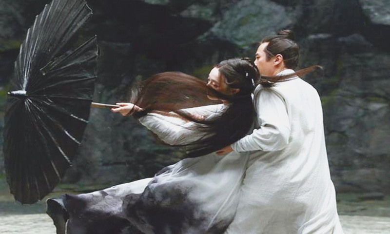 ZHANG Yimou's new martial arts film Shadow.
