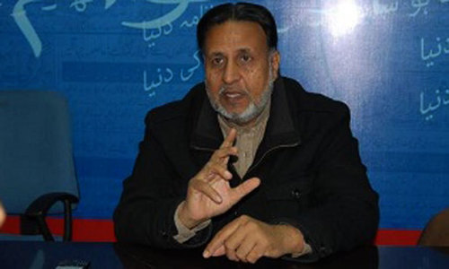 PTI does about-turn on nomination of Nasir Khosa as Punjab caretaker CM