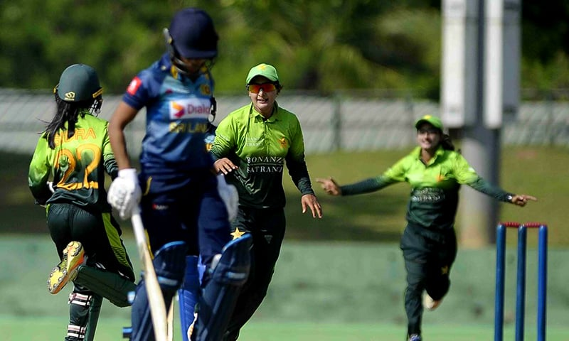 Bismah Maroof, the Pakistan captain, led the bowling attack finishing with figures of 3/17 in 5.2 overs.—Photo by ICC