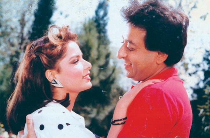In the 1986 film Qatil Ki Talaash with Babra Sharif | Guddu Film Archive