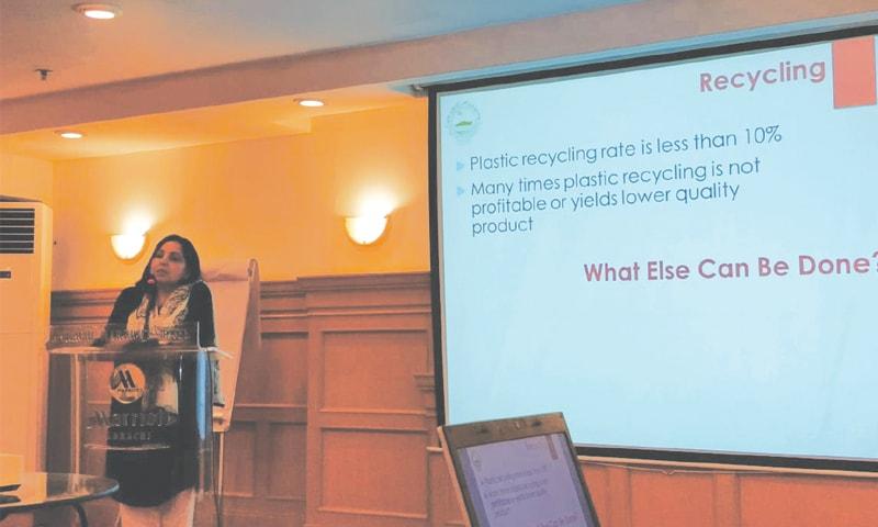 Public urged to reduce plastic use - Newspaper - DAWN COM