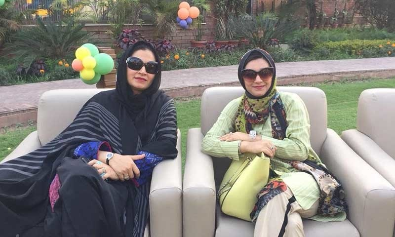 Khadija and her mother Raazia — Photo by author