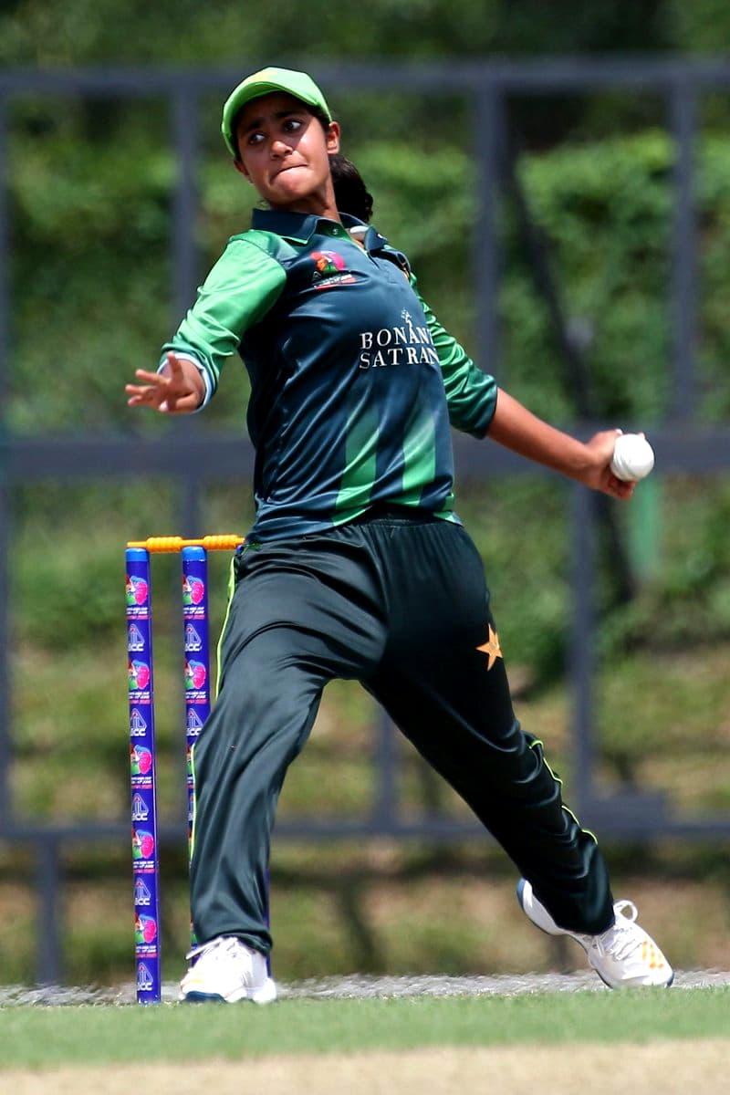 Nashra Sandhu.—Photo by Asian Cricket Council