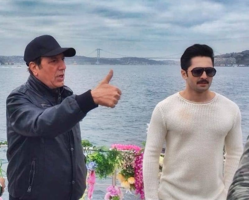 Javed Sheikh found Danish Taimoor perfect for the role