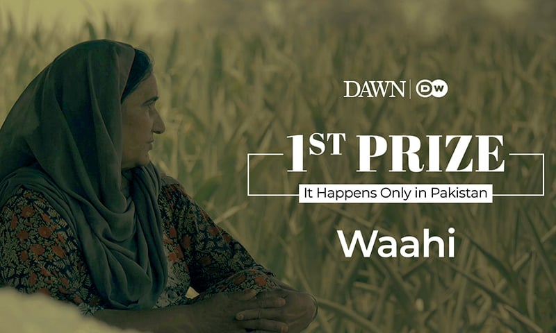 First Prize: 'Waahi' by Arsalan Majid, Haris Sehgal and Ghulam Abbas