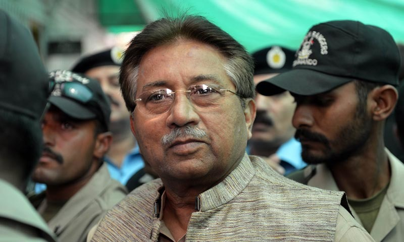 Musharraf submits nomination papers for Chitral's NA-1 seat