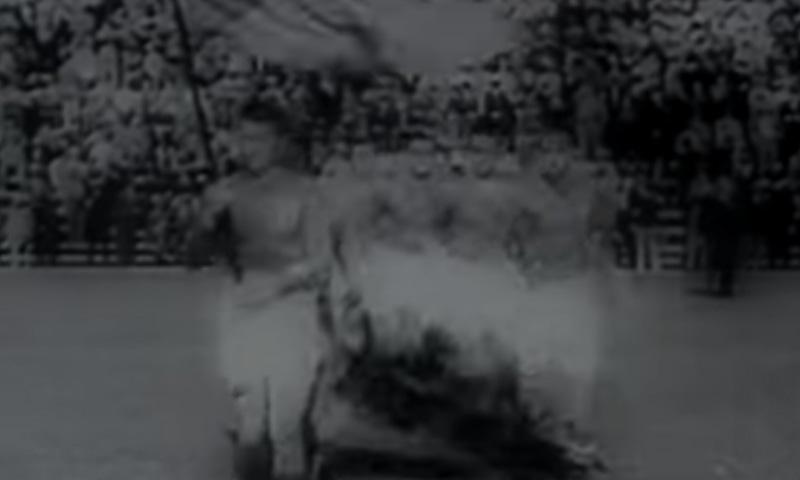 1934 کے ورلڈ کپ کا منظر— فوٹو، اسکرین شاٹ