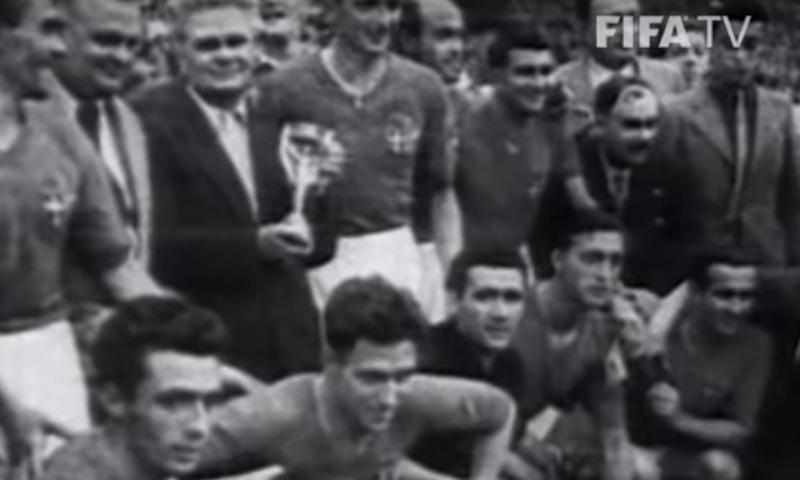 1938 کے ورلڈ کپ کا منظر— فوٹو، اسکرین شاٹ
