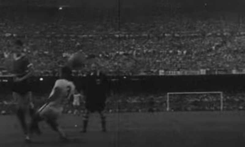 1950 کے ورلڈ کپ کا منظر— فوٹو، اسکرین شاٹ