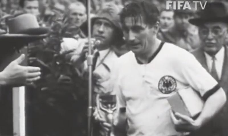 1954 کے ورلڈ کپ کا منظر— فوٹو، اسکرین شاٹ