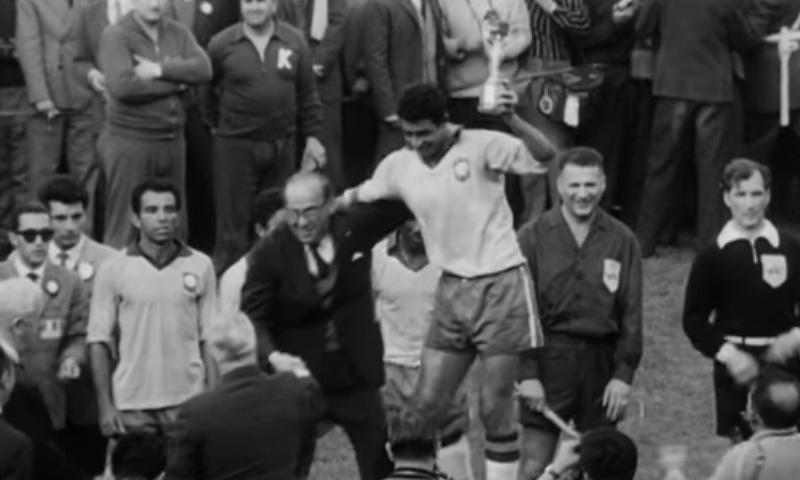 1962 کے ورلڈ کپ کا منظر— فوٹو، اسکرین شاٹ
