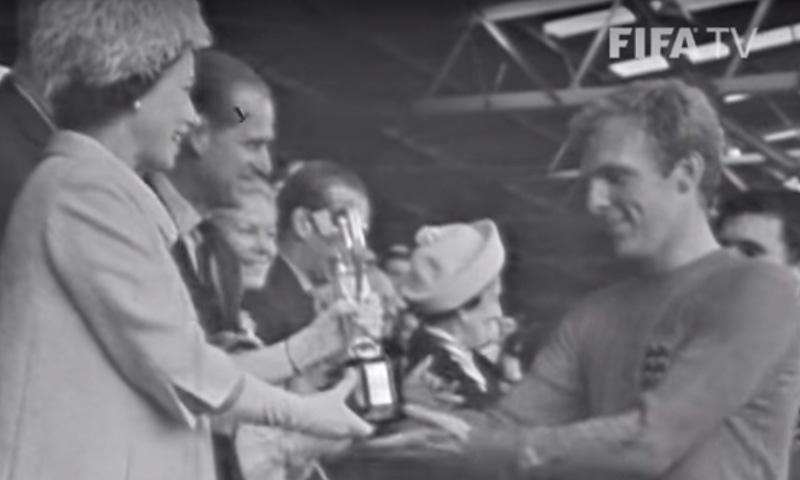 1966 کے ورلڈ کپ کا منظر— فوٹو، اسکرین شاٹ