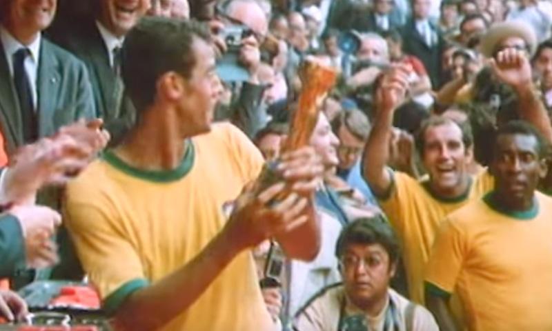 1970 کے ورلڈ کپ کا منظر— فوٹو، اسکرین شاٹ