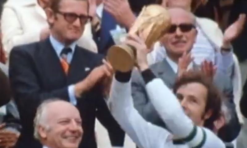 1974 کے ورلڈ کپ کا منظر— فوٹو، اسکرین شاٹ