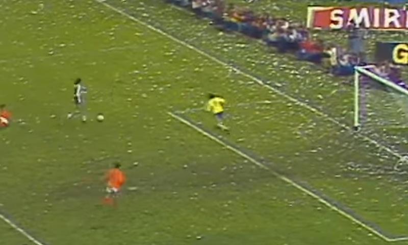 1978 کے ورلڈ کپ کا منظر— فوٹو، اسکرین شاٹ