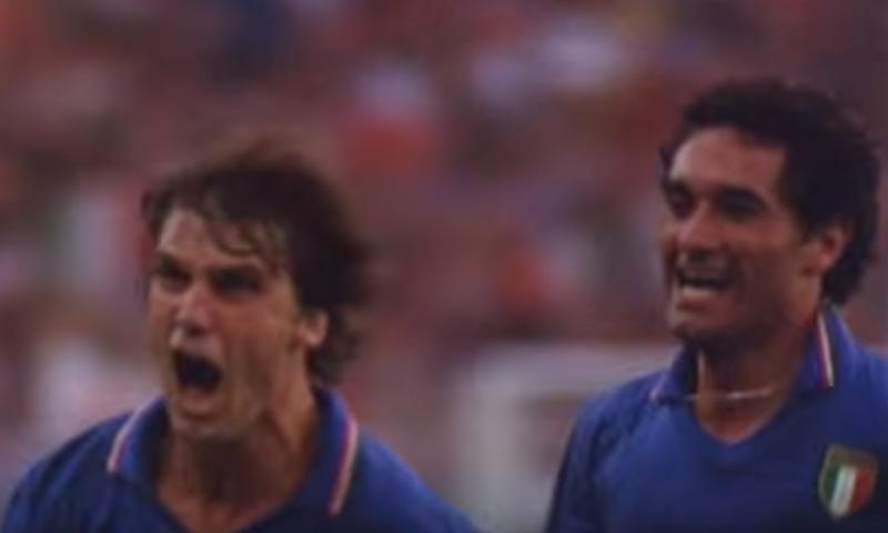 1982 کے ورلڈ کپ کا منظر— فوٹو، اسکرین شاٹ
