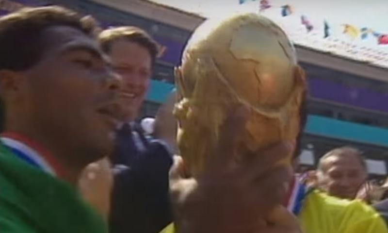 1994 کے ورلڈ کپ کا منظر— فوٹو، اسکرین شاٹ