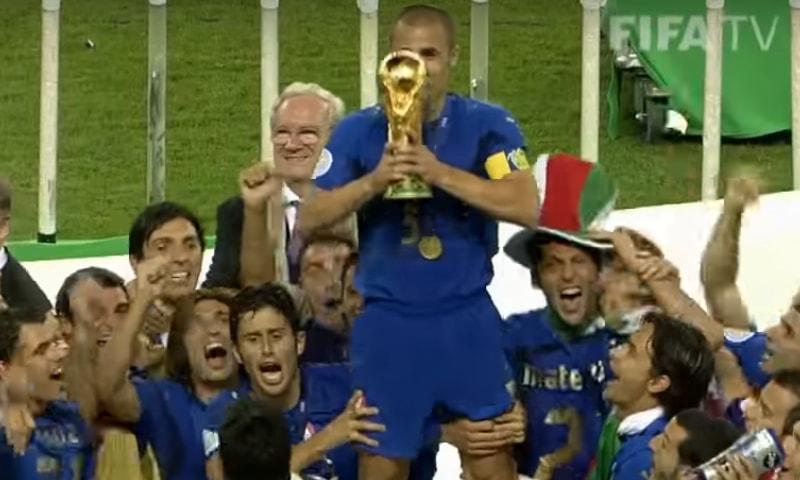 2006 کے ورلڈ کپ کا منظر— فوٹو، اسکرین شاٹ