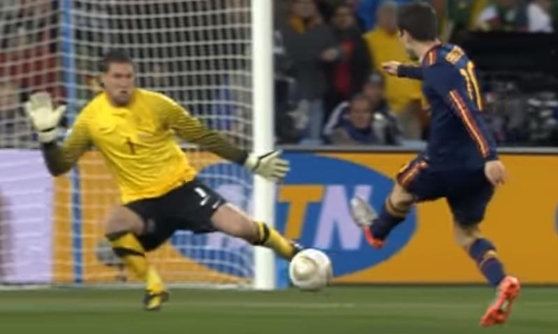 2010 کے ورلڈ کپ کا منظر— فوٹو، اسکرین شاٹ