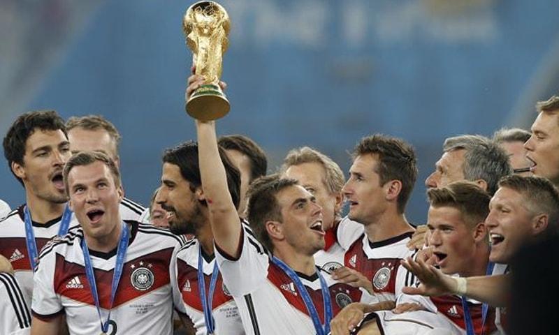 2014 کے ورلڈ کپ کا منظر— فوٹو، اے ایف پی