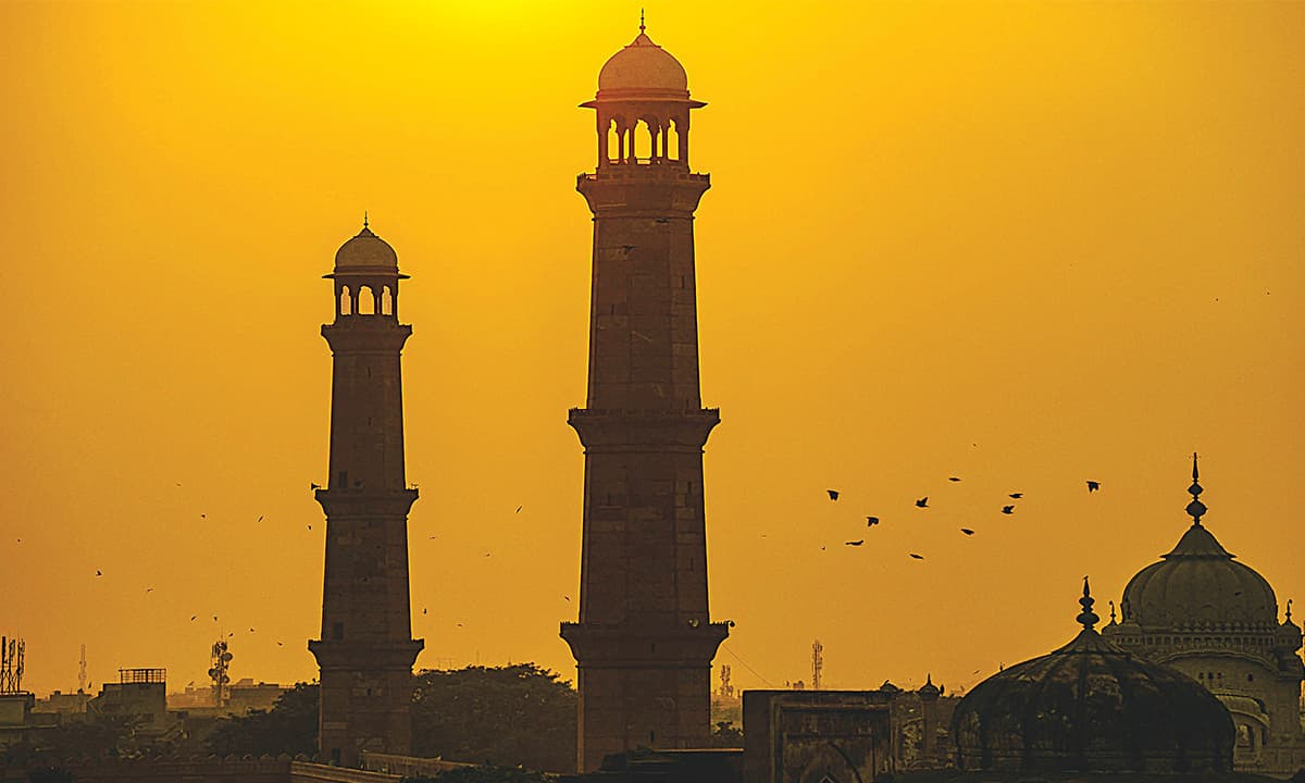 Badshahi Mosque in Lahore | Murtaza Ali, White Star