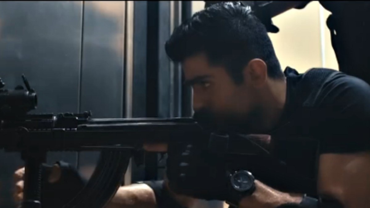 A still from the Project Ghazi trailer