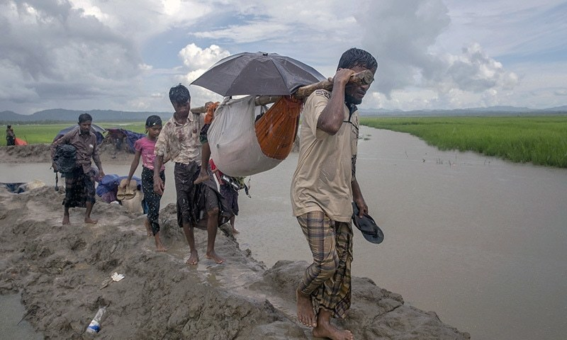 Landslides kill 12 in Bangladesh as monsoon batters Rohingya refugees