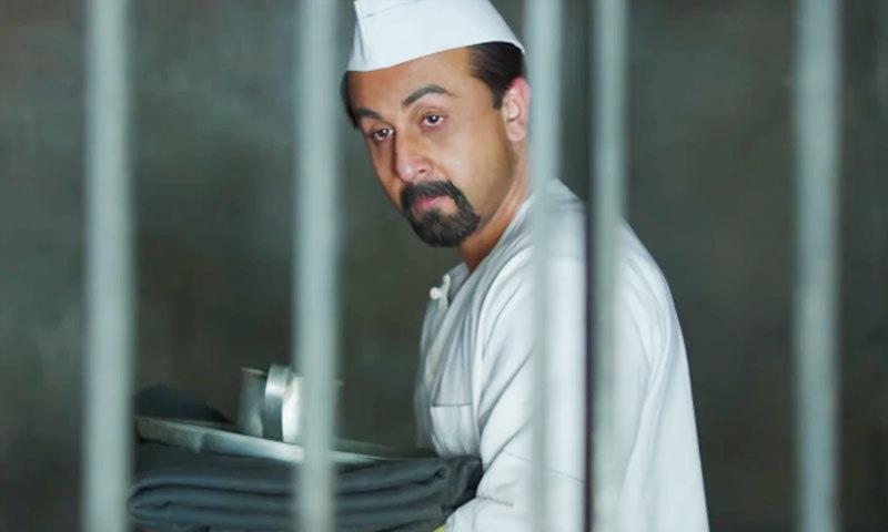 فلم میں سنجے کا کردار رنبیر کپور نے نبھایا ہے—اسکرین شاٹ