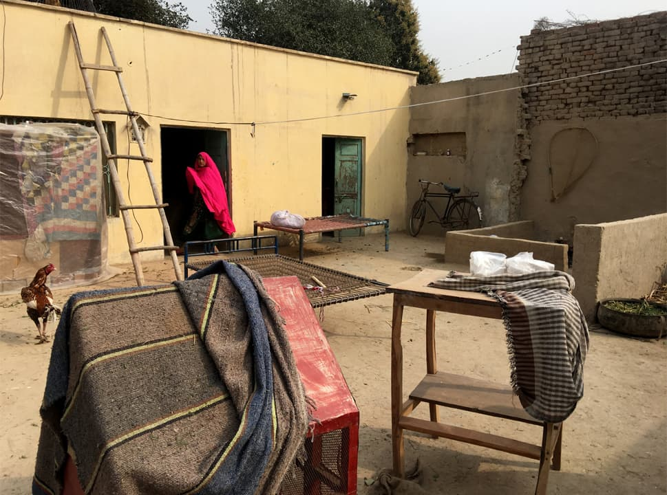 The house where Ghulam Qadir and Ghulam Sarwar once lived on the outskirts of Rahim Yar Khan | Subuk Hasnain