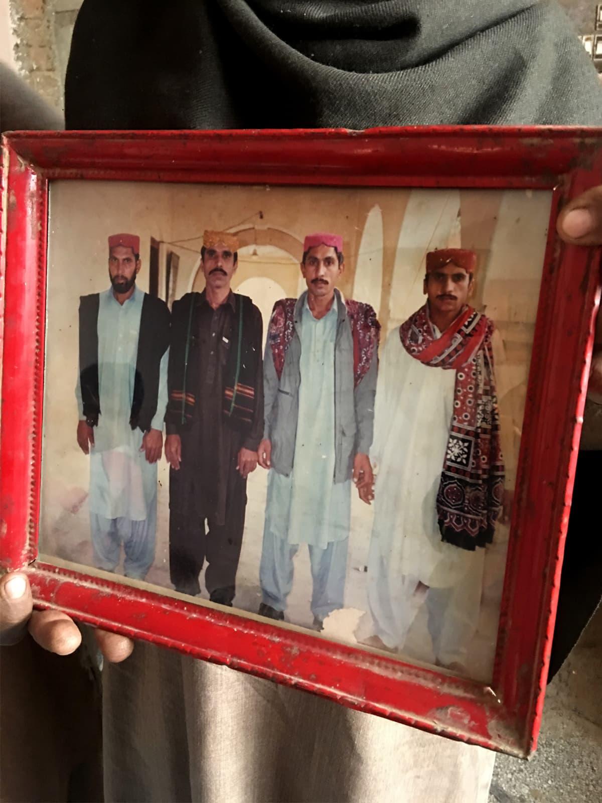 Left to right: Ghulam Farid, Ghulam Qadir, Ghulam Sarwar and Ghulam Ghaus | Subuk Hasnain