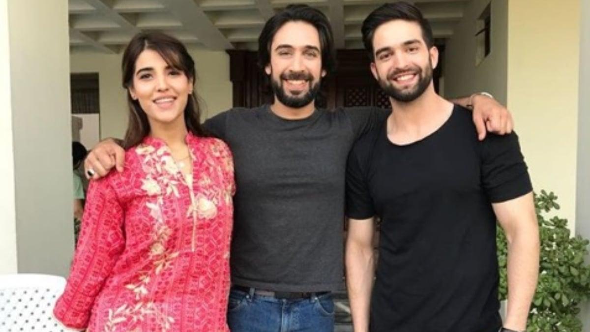 Hareem Farooq, Ali Rehman Khan and Alamdar Hussain