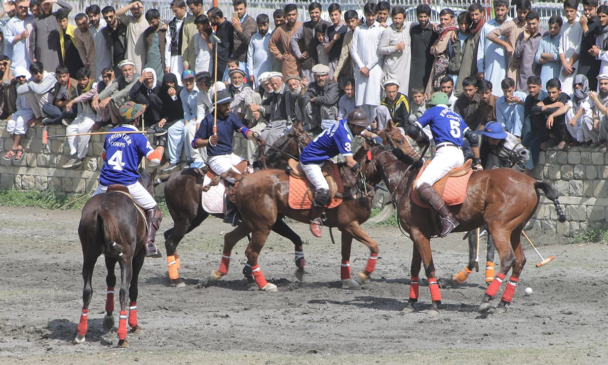 How teams compete for the Shandur Polo Festival