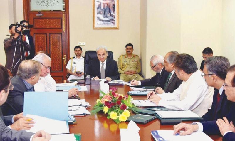 Caretaker federal cabinet appoints new chief secretaries, IGPs across all provinces
